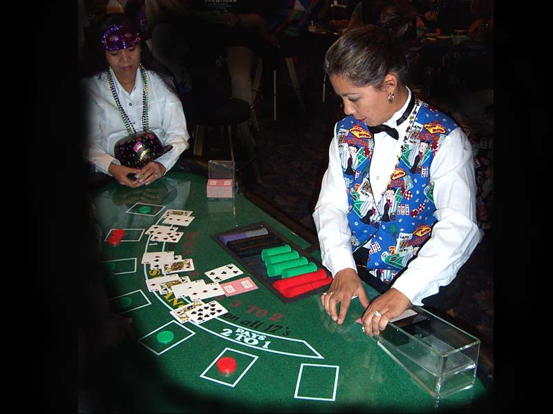 Blackjack dealer school arizona